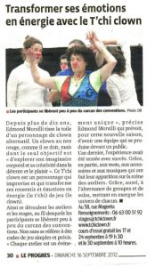 presse_2012_09_progres_Tchiclown